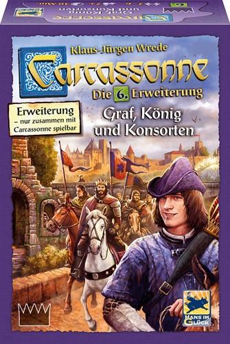 Carcassonne 6. Erweiterung - Graf, König und Konsorten