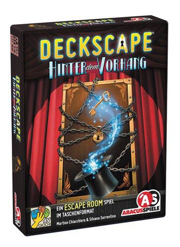 Deckscape - Hinter dem Vorhang - Escape Spiel im Taschenformat