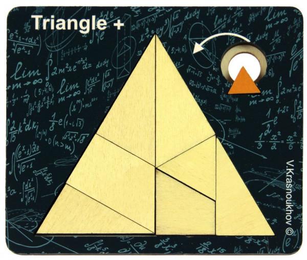 Triangle - Krasnoukhov's amazing packing problems