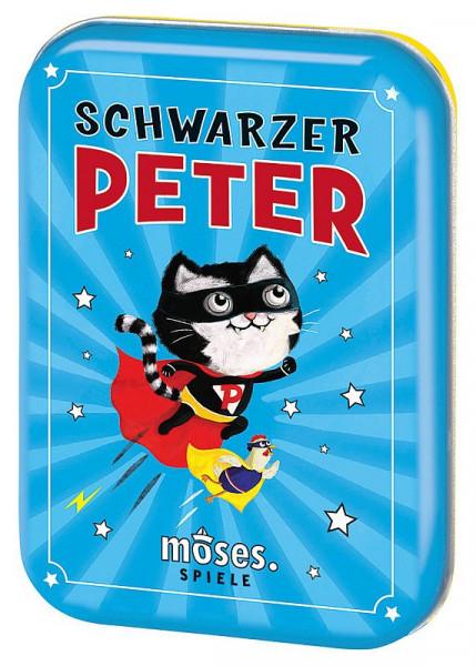 Schwarzer Peter in Blechdose