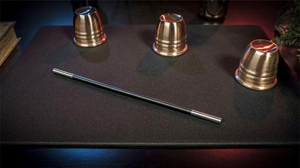 Professionelles Close Up Pad - Schwarz - Tischmatte für Zaubertricks
