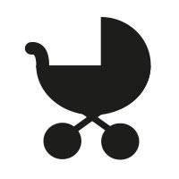 Ministempel Kinderwagen