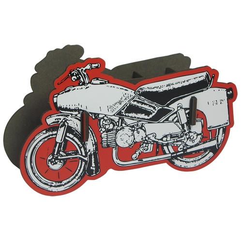 Stiftebox Motorrad - rot