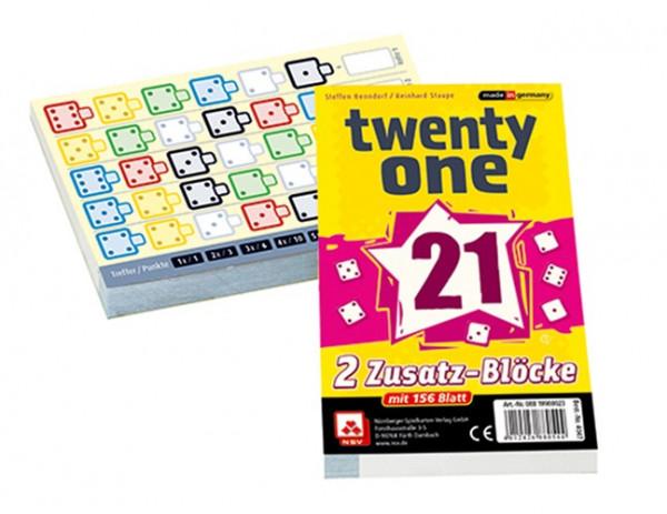 Ersatzblöcke für Twenty one, 2-er Set