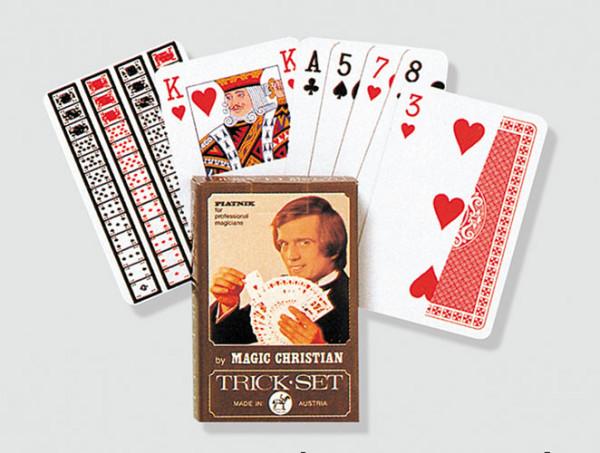 Trickkarten by Magic Christian - Zauber Set 13066
