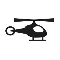 Ministempel Hubschrauber