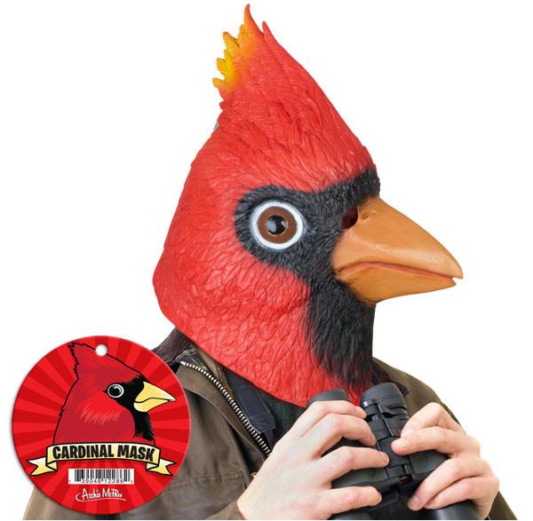 Kardinalsvogelmaske