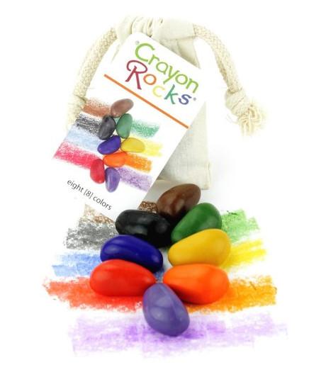 Crayon Rocks - Malfarben in Steinform - Set mit 8 Stk