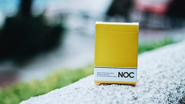 Cardistry Karten - NOC Original - Gelb