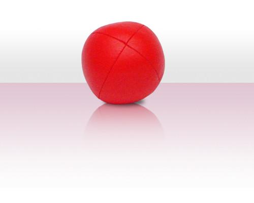 Jonglierball Beanbag Kunstleder - rot uni