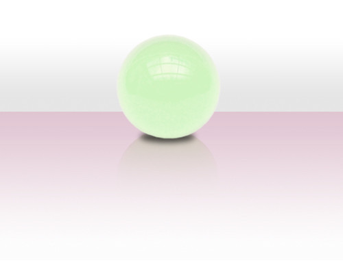 Acrylball 64mm - uv aktiv/weiss