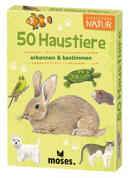 50 Haustiere