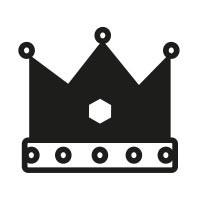 Ministempel Krone
