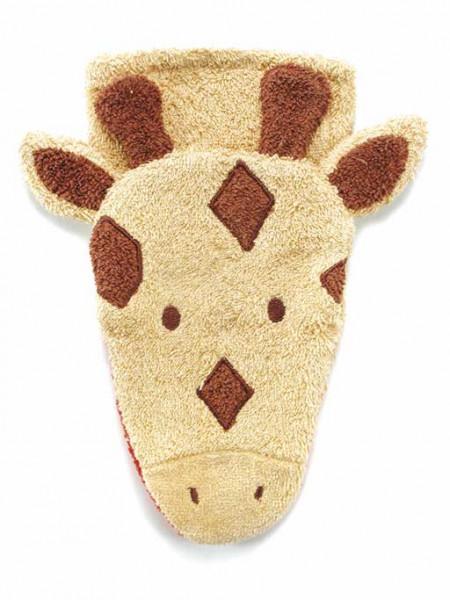 Waschlappen Tiermotiv - Giraffe