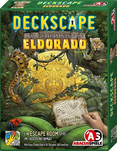 Deckscape - Das Geheimnis von Eldorado - Escape Spiel im Taschenformat