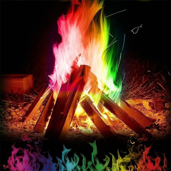 Mystisches Feuer - farbiges Feuer 10er Set, je 25g