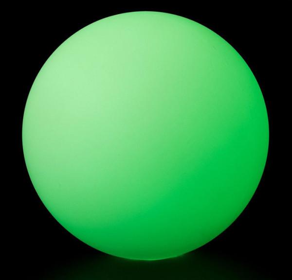 Contact LED Glow Ball - 90 mm - grün