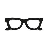 Ministempel Brille