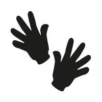 Ministempel Hände