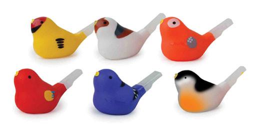Bird Whistle - Vogel Pfeife zum Baden