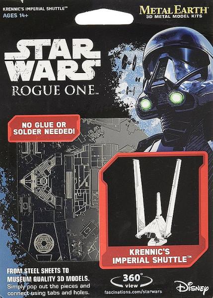 Metal Earth Modellbausatz - Krennic's Imperial Shuttle - Star Wars - Rogue One