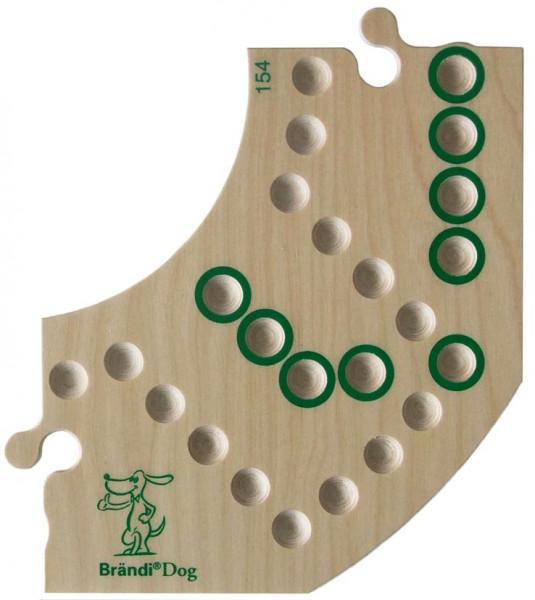 Brändi Dog - einzelnes Segment - grün