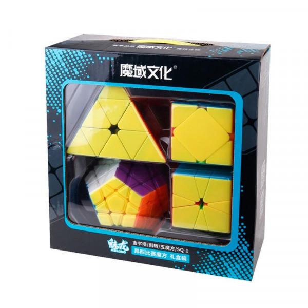 Zauberwürfel Geschenk-Set - Der Megamix