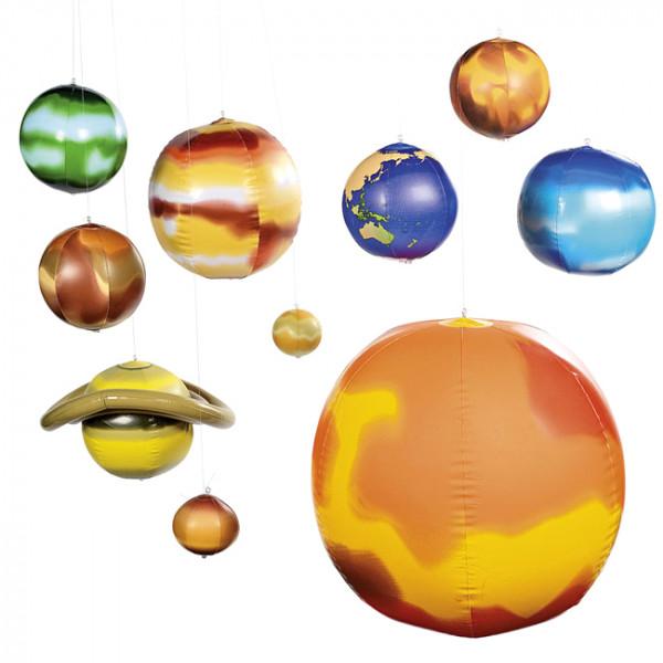 Aufblasbares Sonnensystem