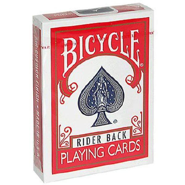 Bicycle Karten - Rider Back - Rot