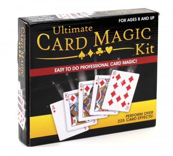 Ultimate Card Magic Kits - Set mit Karten Zaubertricks