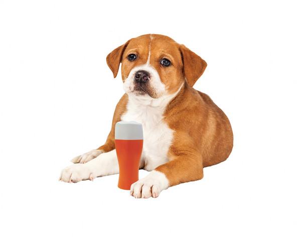 """Quietsch-Spielzeug """"Bierglas"""" für Hunde"""
