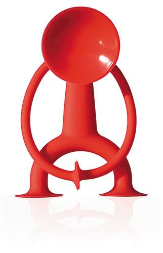 Oogi Red - Die Saugnapffigur