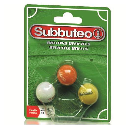 Subbuteo Ersatzbälle - Set mit 3 Stk