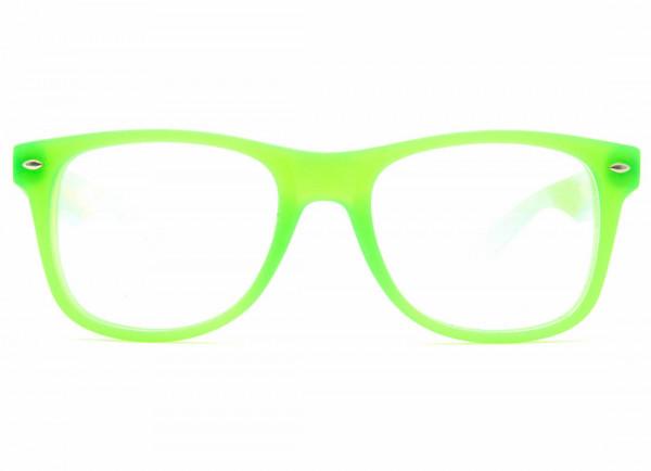 Regenbogenbrille Effektbrille - Ultimate UV Grün - GloFX