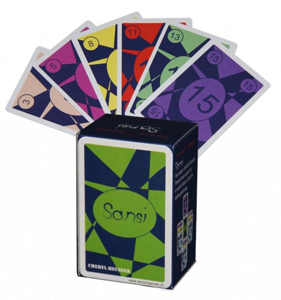 Sansi - Das lustige, schnelle Kartenspiel