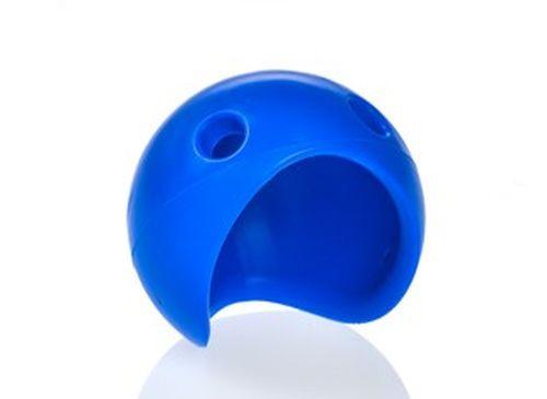 Clownnase Silikon - blau - Grösse L