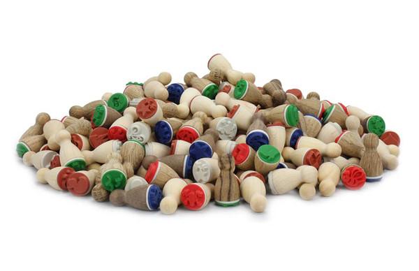 Ministempel Set mit 20 Stück - Zufällige Auslieferung