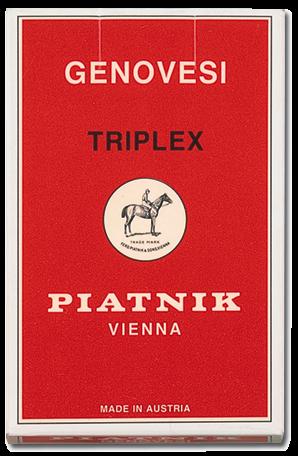 Genovesi Triplex Spielkarten - Italienische Spielkarten