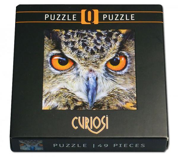 Curiosi Q Puzzle - Animal 04 - Eule