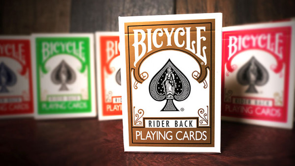 Bicycle Karten - Rider Back - Gold