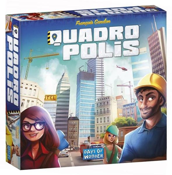 Quadropolis - organisiere deine Stadt - Familienspiel