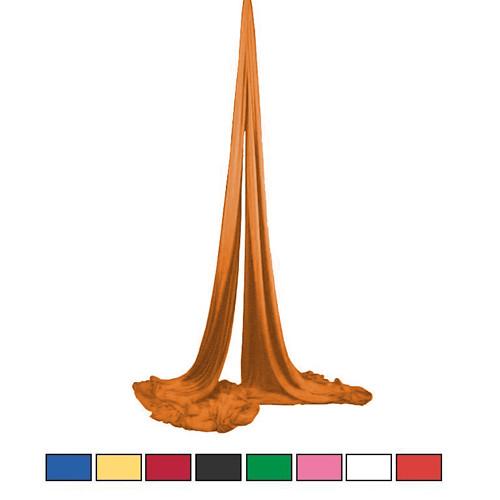 Vertikaltuch - Das Tuch zum Turnen 16m - orange