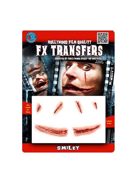 Smiley (aufgerissene Mundwinkel) 3D FX Transfers - Spezialeffekt