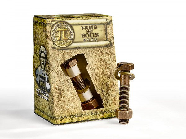 Archimedes 3D Puzzle Nuts and Bolts