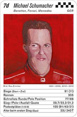 Legenden Quartett - Formel 1