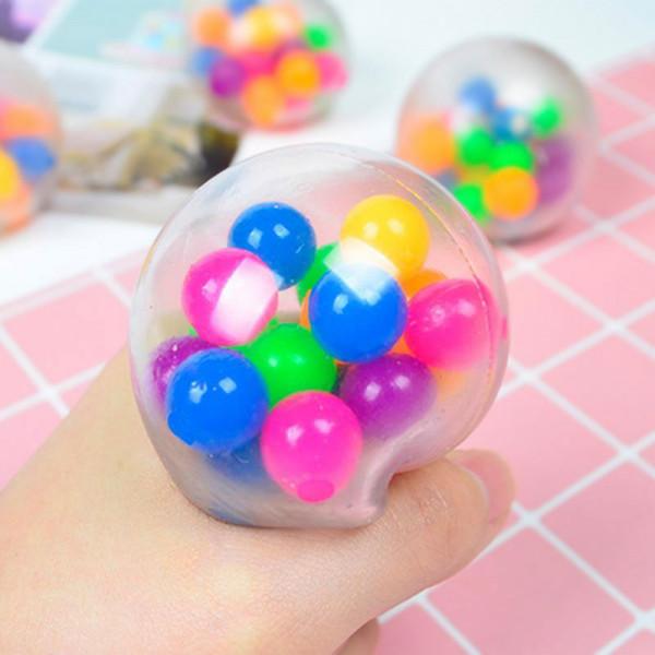DNA Ball - Antistress Ball mit Kugeln im Innern