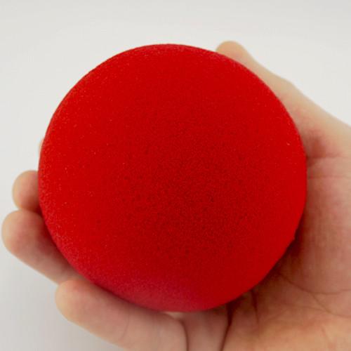 Schaumstoff Ball 10cm - Sponge Ball Regular - Rot