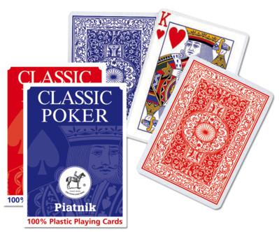 Pokerspielkarten 100% Plastik