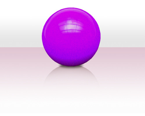 Stageball 80mm violett