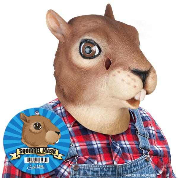 Eichhörnchen Maske